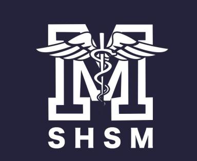 The medical staff logo goes on the sleeve.